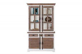 Martinique glass cabinet 2 doors