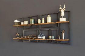 Raw wall rack rectangular