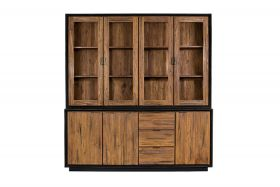 Mountain glass cabinet