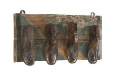 Mary Wall Rack with 4 shoes