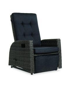 Solano Schommelstoel met uitkomende voetenbank inclusief zit- en rugkussen