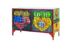 Route 66 Vintage Commode