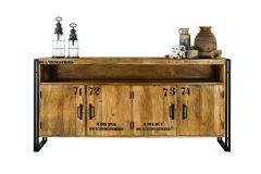 De L'Industries Vintage Dresser 4 doors