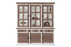 Martinique Glass cabinet 3 doors