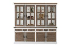 Martinique Glass cabinet 4 doors