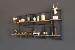 Raw wall rack square