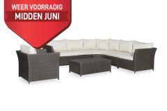 Corindi Loungeset met coffee table en fauteuil. Inclusief alle zit- en rugkussens