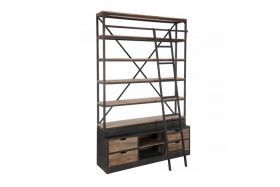 Oxford Bookcase with ladder