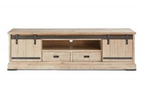 Harlow TV-Cabinet 2 sliding doors, 2 drawers