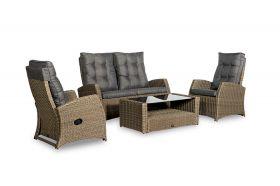 Summerfield loungeset met coffee table, inclusief alle zit- en rugkussens