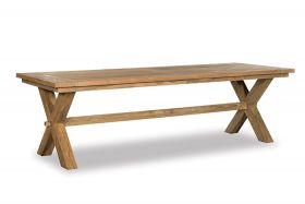 Borneo Rustic Outdoor Table 300 cm