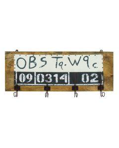OBS Vintage Wall Hanger