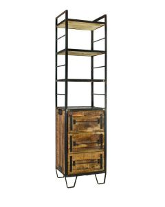 Factory Vintage Bookcabinet 3 drawers