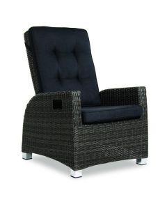 Solano Verstelbare fauteuil met zit- en rugkussen