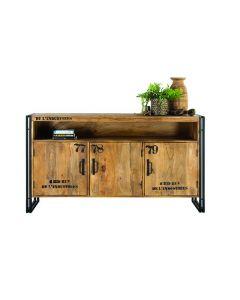 De L'Industries Vintage Dresser 3 doors