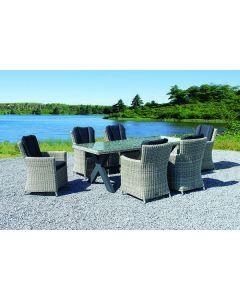 Levisa Diningchair, inclusief zit- en rugkussen