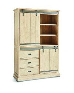 Harlow Cabinet 2 sliding doors, 3 drawers