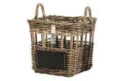 Storage basket with blackboard big