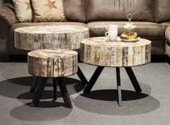 Vintage coffee table mosaic