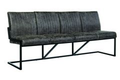 Treviso Bench 4-seater Jackson 101 Antracite