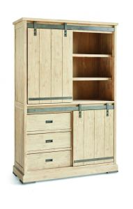 Harlow Cabinet 2 sliding doors, 3 drawers
